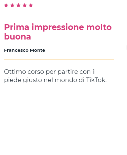 Recensione TikTok Advanced